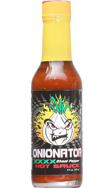 Tahiti Joe's Onionator XXX Ghost Pepper Hot Sauce, 5oz.