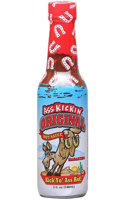 Ass Kickin Original Hot Sauce, 5oz.