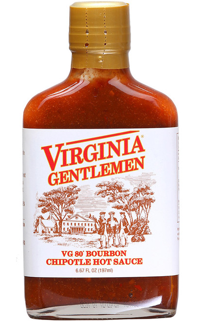 Virginia Gentleman VG80 Bourbon Chipotle, 6.67oz.