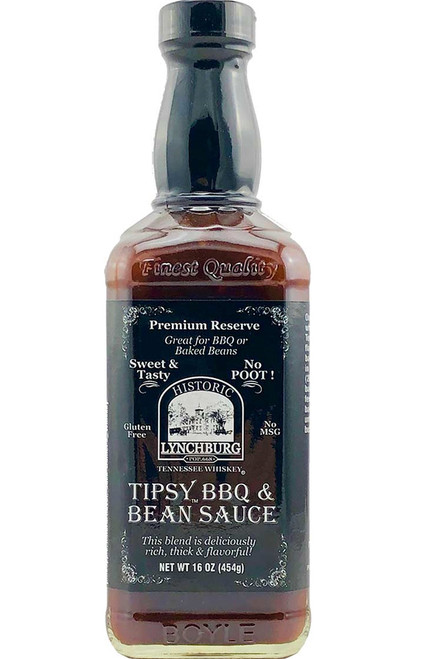 Historic Lynchburg Tennessee Whiskey Jack in the Bean Sauce, 16oz.