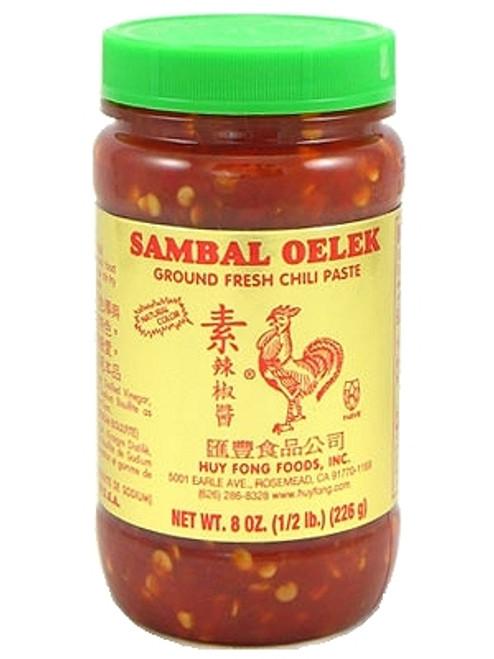 Huy Fong Sambal Oelek Ground Fresh Chili Paste, 8oz.