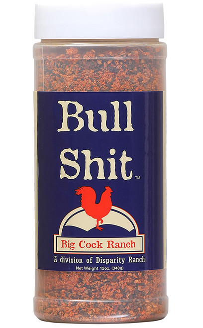 Bull Shit Seasoning, 12oz.