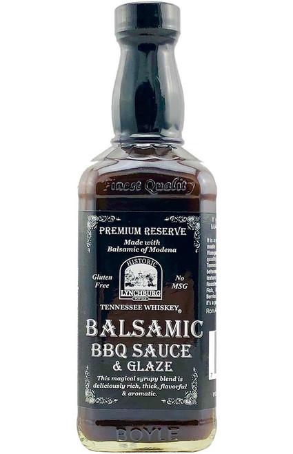 Historic Lynchburg Tennessee Whiskey Balsamic BBQ Sauce & Glaze, 16oz.