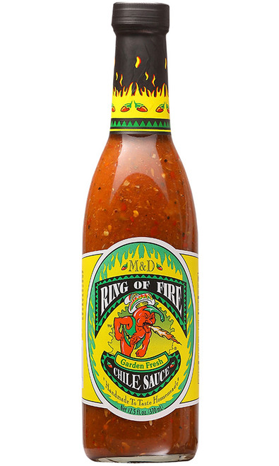 Ring Of Fire Garden Fresh Chile Sauce, 12.5oz.