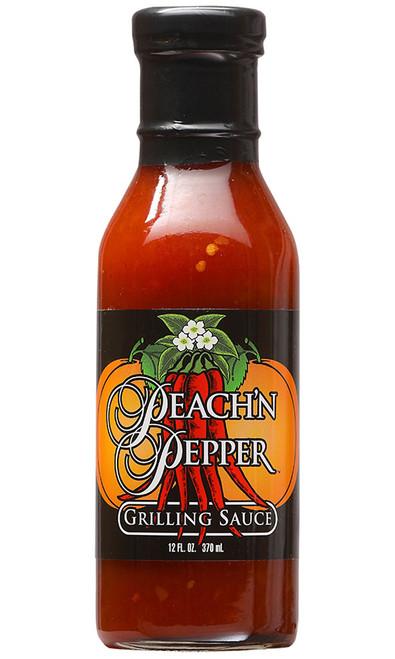 Peach N' Pepper Grilling Sauce, 12oz.