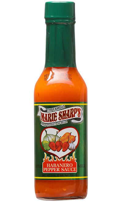 Marie Sharp's Mild Habanero Hot Sauce, 5oz.