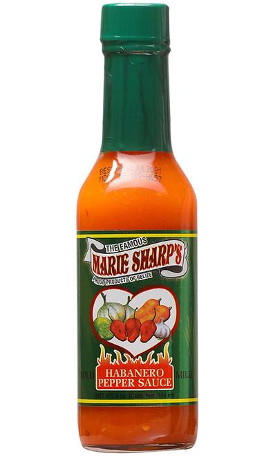 Marie Sharp's Mild Habanero Hot Sauce, 5oz.