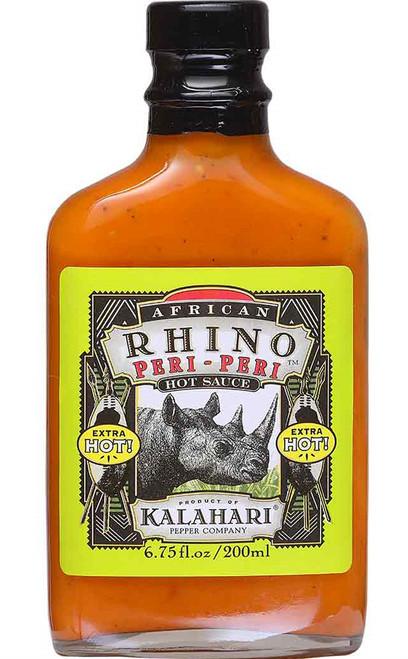 African Rhino Peri-Peri Extra Hot Sauce, 6.75oz.