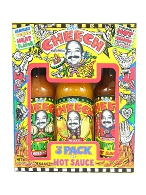 Cheech 3 Pack Hot Sauce Gift Set, 3/5oz.