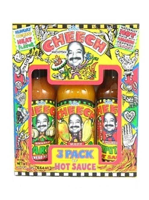 Cheech 3 Pack Hot Sauce Gift Set, 3/5oz.