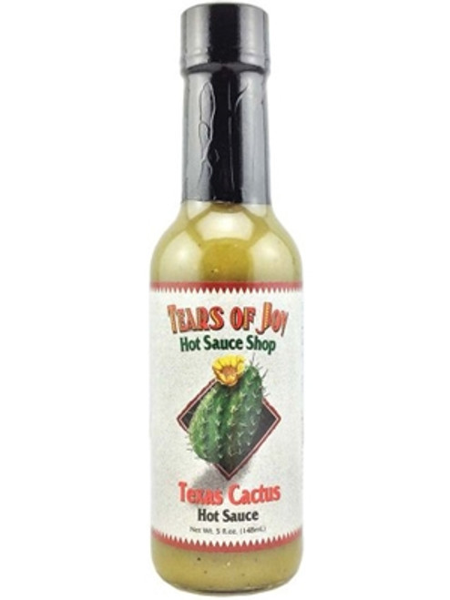 Tears of Joy Texas Cactus Hot Sauce, 5oz.