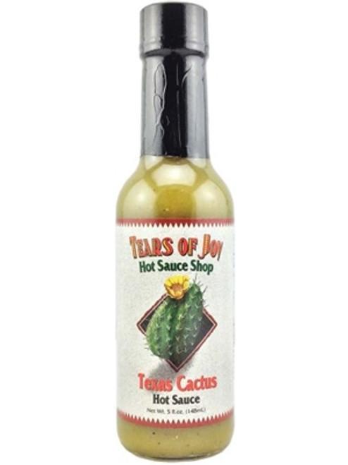 Tears of Joy Texas Cactus Hot Sauce, 5oz.