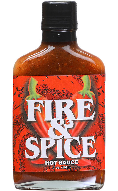 Fire and Spice All Natural Hot Sauce, 7oz.