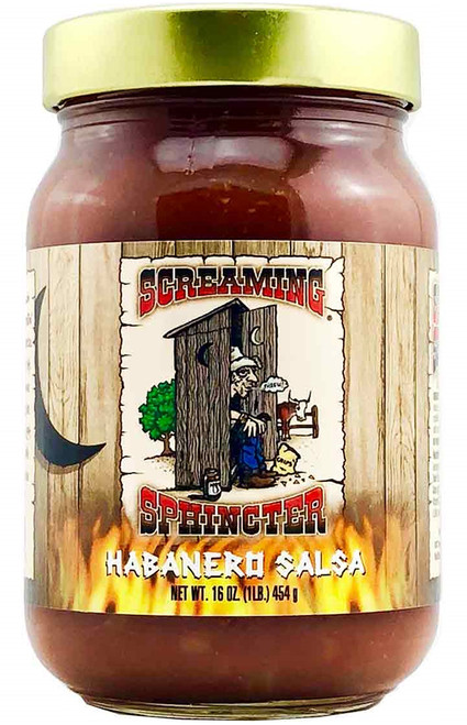 Screaming Sphincter Habanero Salsa, 16oz.