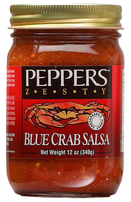 Peppers Zesty Blue Crab Salsa, 12oz.