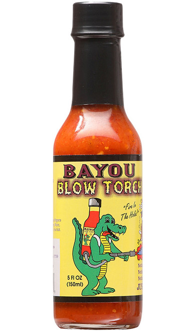 Bayou Blow Torch Hot Sauce, 5oz.