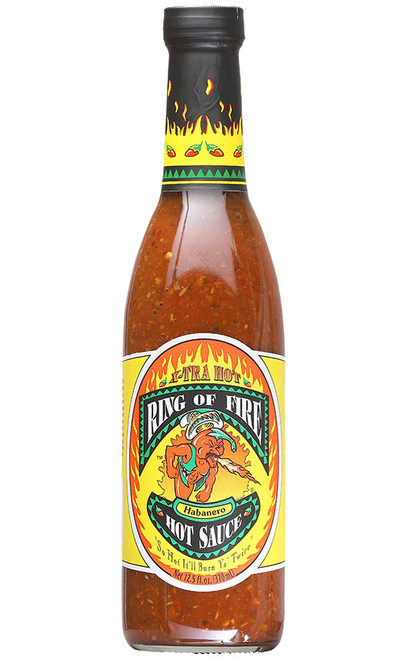 Ring Of Fire Xtra-Hot Habanero Hot Sauce, 12.5oz.