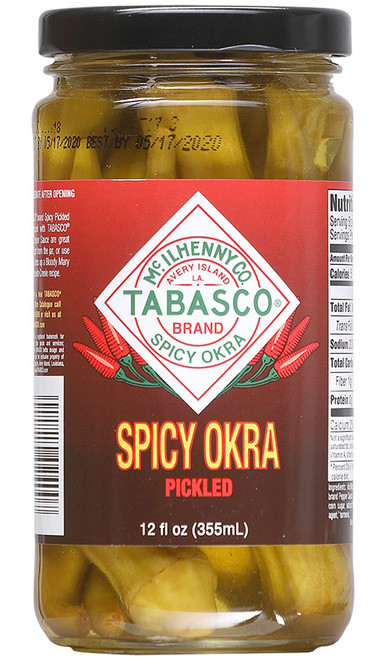 TABASCO® Spicy Pickled Okra, 12oz.