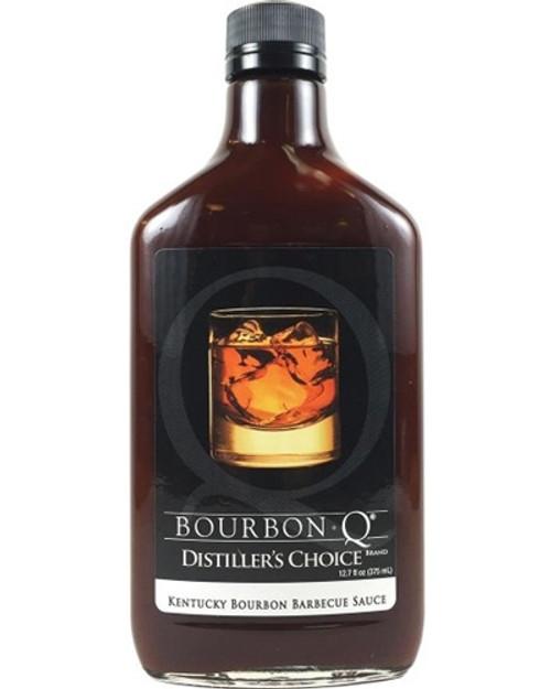 BourbonQ Distiller's Choice BBQ Sauce, 12.7oz.