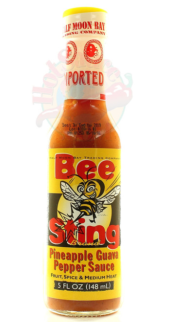 Bee Sting Pineapple Guava Pepper Sauce, 5oz.