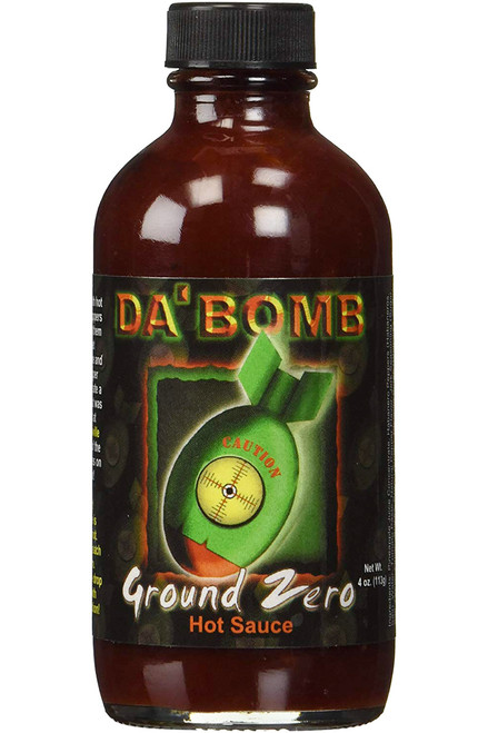 Da Bomb Ground Zero Hot Sauce, 4oz.