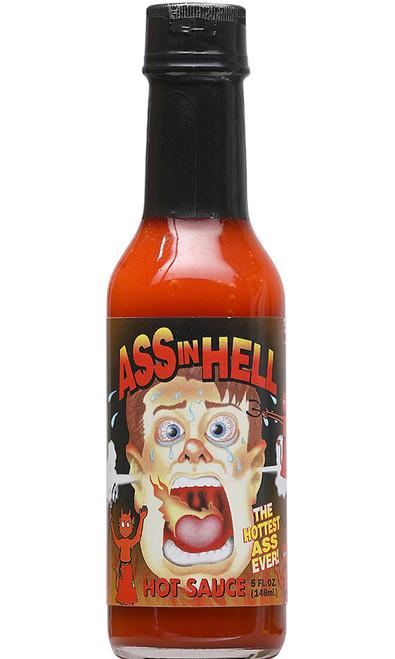 Ass In Hell Hot Sauce, 5oz.