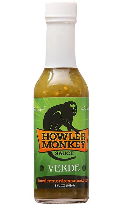 Howler Monkey Verde Hot Sauce, 5oz.