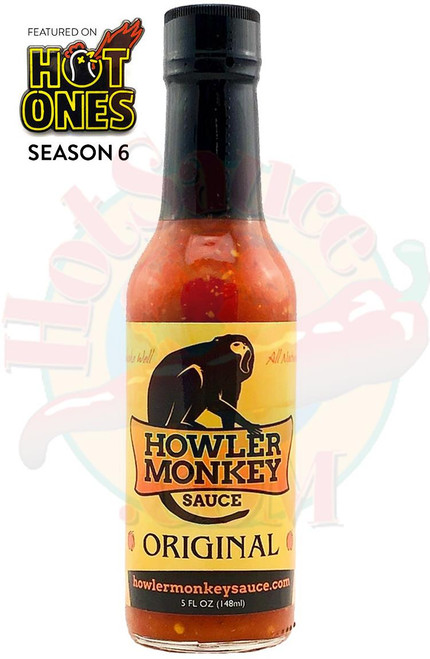 Howler Monkey Original Hot Sauce, 5oz.