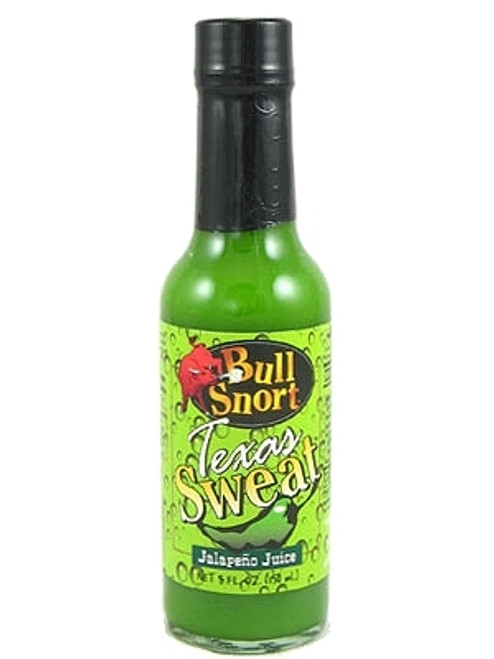 Bull Snort Texas Sweat Hot Sauce, 5oz.