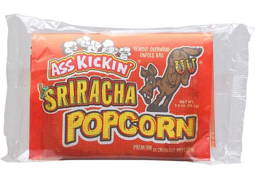 Ass Kickin Hot Sriracha Popcorn, 3.5oz.