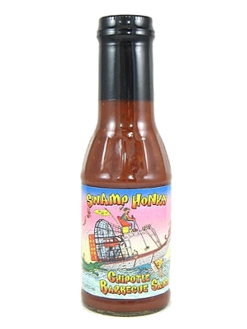 Swamp Honky Chipotle BBQ Sauce, 12oz.