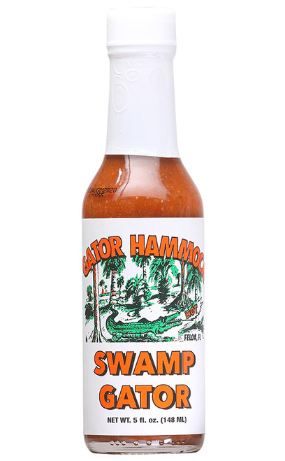 Gator Hammock Swamp Gator Hot Sauce, 5oz.