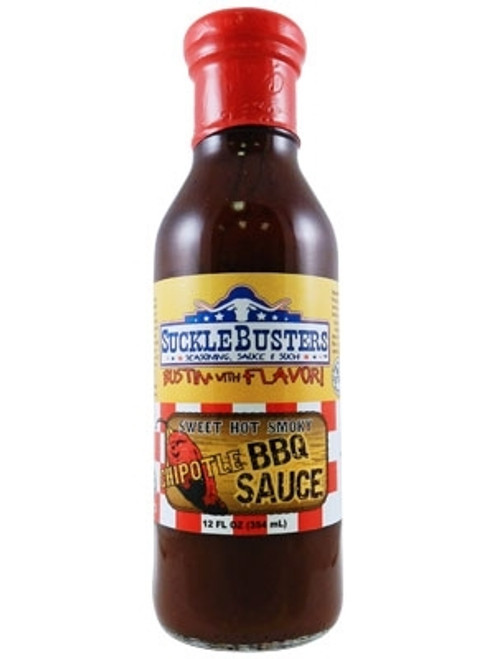 SuckleBusters Chipotle BBQ, 12oz.
