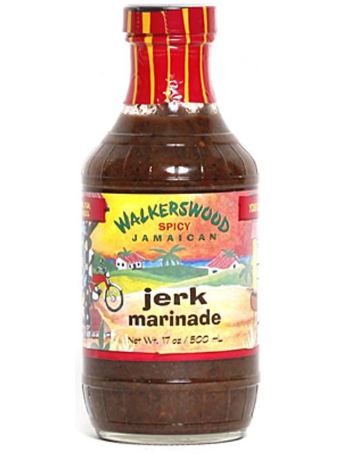 WalkersWood Spicy Jamaican Jerk Marinade, 17oz.