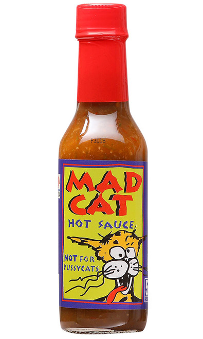 Mad Cat Hot Sauce, Not For PussyCats!, 5oz.