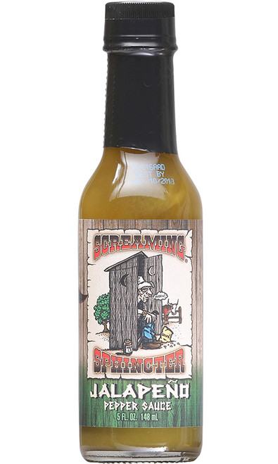 Screaming Sphincter Jalapeno Pepper Sauce, 5oz.