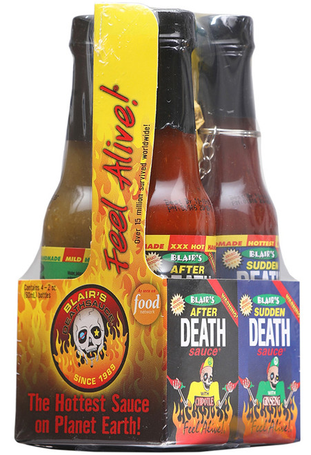 Blair's Mini Death Sauce Hot Sauce 4 Pack / 2oz.