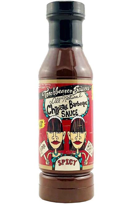 Torchbearer Chipotle BBQ Sauce, 12oz.
