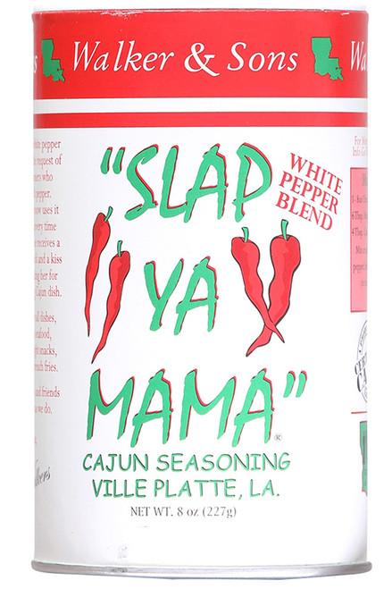 Slap Ya Mama White Pepper Blend Cajun Seasoning, 8oz.