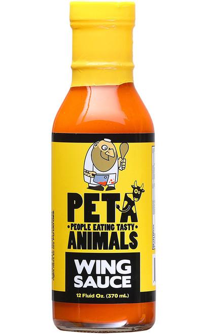 PETA Wing Sauce, 12oz.