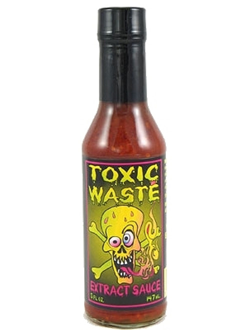 Toxic Waste Extract Hot Sauce, 5oz.