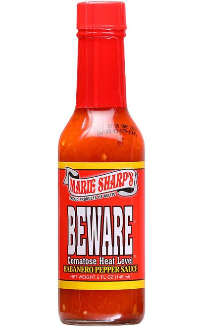 Marie Sharp's Beware Comatose Hot Sauce, 5oz.