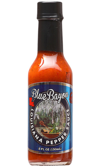 Blue Bayou Louisiana Pepper Sauce, 5oz.