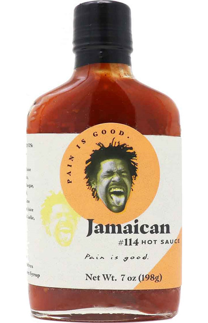 Pain Is Good Batch #114 Jamaican Style Hot Sauce, 7oz.