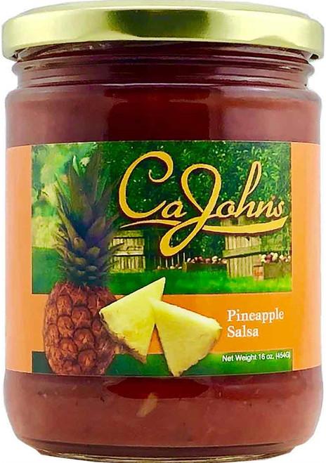 CaJohn's Gourmet Pineapple Salsa, 16oz.
