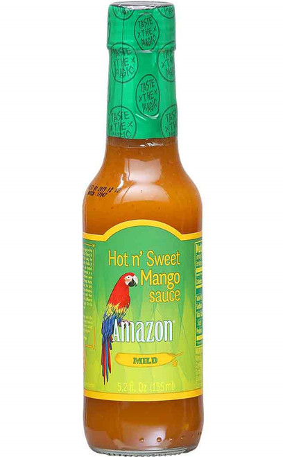 Amazon Mild Hot N' Sweet Mango Sauce, 5.2oz.