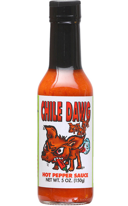 Chile Dawg Hot Pepper Sauce, 5oz.
