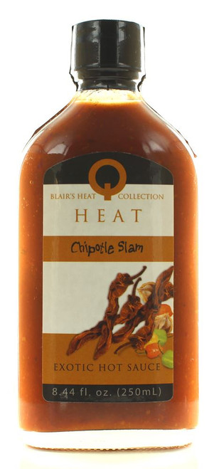 Blair's Q Heat Chipotle Slam Exotic Hot Sauce, 8.44oz.