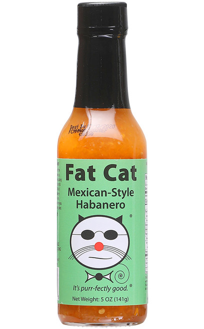 Fat Cat Mexican-Style Habanero Hot Sauce, 5oz.