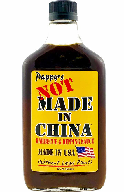 Pappy's Not made In China BBQ and Dipping Sauce, 12.7oz.